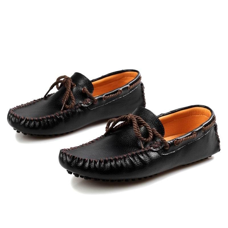 Mocassim Do Errfc Loafer Branco 44 38 Chegada Preto Dedo Sapatos branco Novos Zapatos Homem Lazer Moda Barco Designer Redondo Preto Prevista Da Pé De Trending amarelo Homens nXZ0xRn