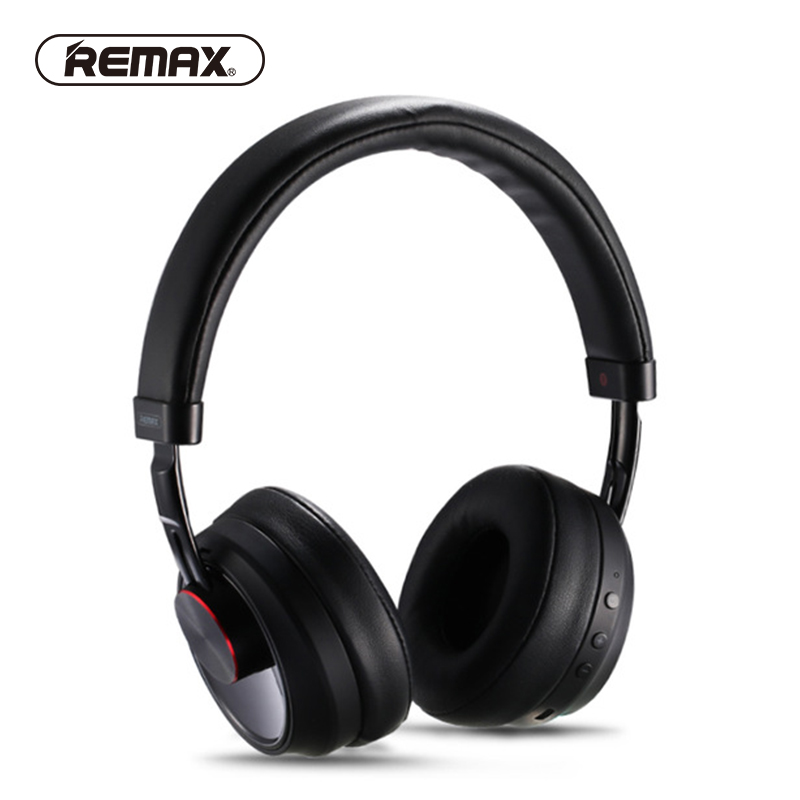 REMAX Wireless Music Bluetooth Headphones Headset with HD Mic Noise Cancelling hifi sound 3D Stereo bass for music phone 2016 noise cancelling wireless sleep headphones stereo 2 4ghz bluetooth headset for listenting music answering phone eye mask