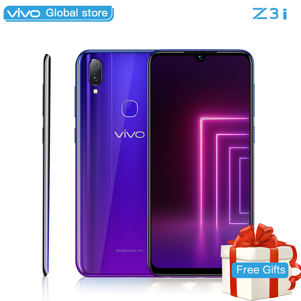 Original Mobile Phone vivo Z3i Helio P60 16MP Front camera LTE Android 8.1 6G Ram+ 128G ROM 6.3 Water Drop Screen smartphone