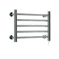 Heated Towel Warmer Bathroom Stainless Steel Five layer Towel Rack Wall Mounted Electric Heated Towel Rail dryer YEK 8045 50W