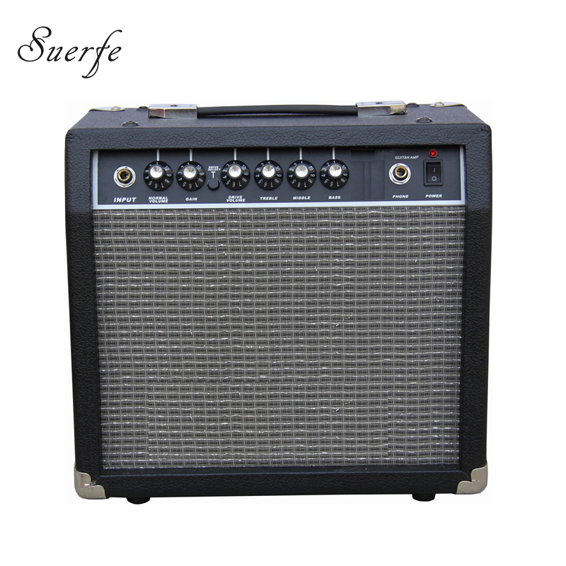 High Quality Guitar Accessories 15 Watt into 4 Ohms Amplificador Transistor Electric Guitar Amplifier New Musical Instruments high quality clip on sound pickup microphone wire 12 hole acoustic electric guitar pick up transducer amplifier accessories new