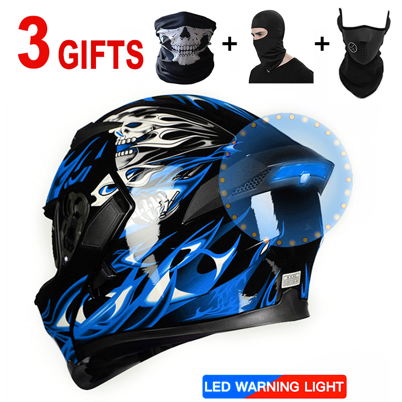Full face helmet motorcycle helmets Racing dot capacete de moto motociclista para Motocross kask casco L XL XXL multiple colour