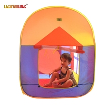 LIGHTAITING Brand Colorful Casa Tent Children Beach Play House Indoor outdoor font b Toys b font