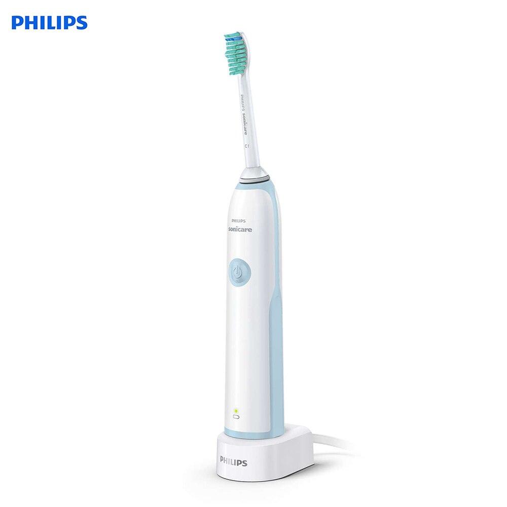 Philips elektryczna szczoteczka do zębów Sonicare HX3216 Sonic Vibration szczotka do zębów elektryczna szczoteczka do zębów do ładowania z funkcją timera w Elektryczne szczoteczki do zębów od AGD na  Grupa 1