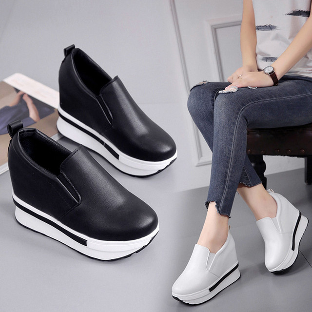 New Fashion Women's Flat Shoes Spring Flat Shoes Solid Wild Round Toe Female Casual Shoes Round Toe zapatos mujer 2018