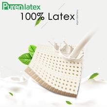 PurenLatex 40*40/ 45*45 Thailand Natürliche Latex Sitzkissen Pad Stuhl Hüften Orthopädische Kissen Sitz Latex matten Steißbein Schützen