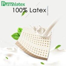 Подушка PurenLatex 40*40/ 45*45 из Таиланда, натуральный латекс, подушка для кресла, Ортопедическая подушка для кресла, латексные коврики для защиты Кока