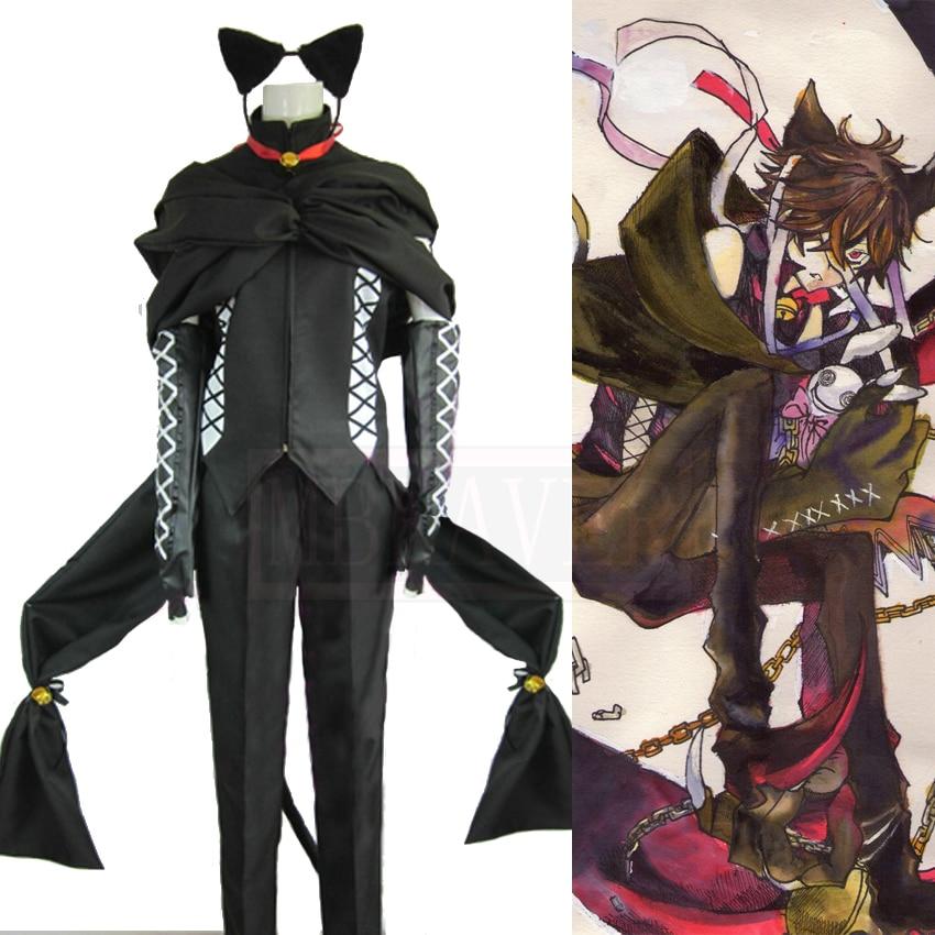 Pandora coeurs Smilecat Cosplay Costume sur mesure livraison gratuite