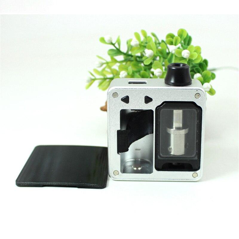 Новейшая SXK Bantam коробка мод SXK 30 Вт bb мини коробка с черным серебристым цветом bb коробка 5 мл огромный флакон модов и USB порт vape испаритель - 2
