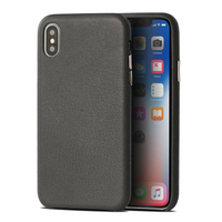 Luxury Genuine Leather Phone Case For iPhone X XS Max XR 10 7 8 6 6S Plus Natural Lambskin Sheep Skin Soft and smooth leather