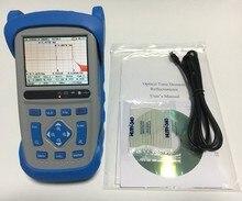 Reflectómetro OTDR de fibra óptica 1310/1550nm 28/26dB 1,5/8m zona muerta, con bolsa de transporte, conectores FC/SC/ST, (modelo # FF80D28)