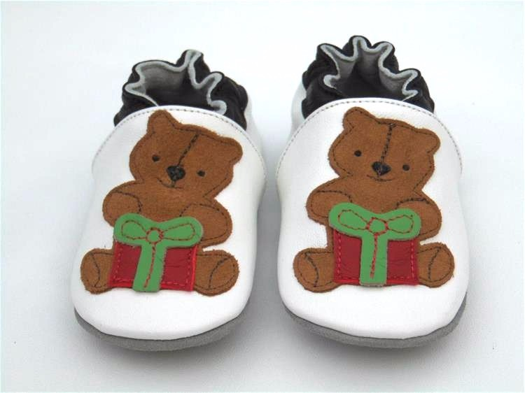 Guaranteed 100% soft soled baby shoes Genuine Leather baby boy shoes  baby booties for new born sheepskin  baby first walkers