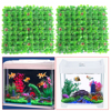 2Pcs Aquarium Decorations Artificial Green Grass Plant Lawn Aquarium Fish Landscape Garden FishTank Aquarium Ornament Decor