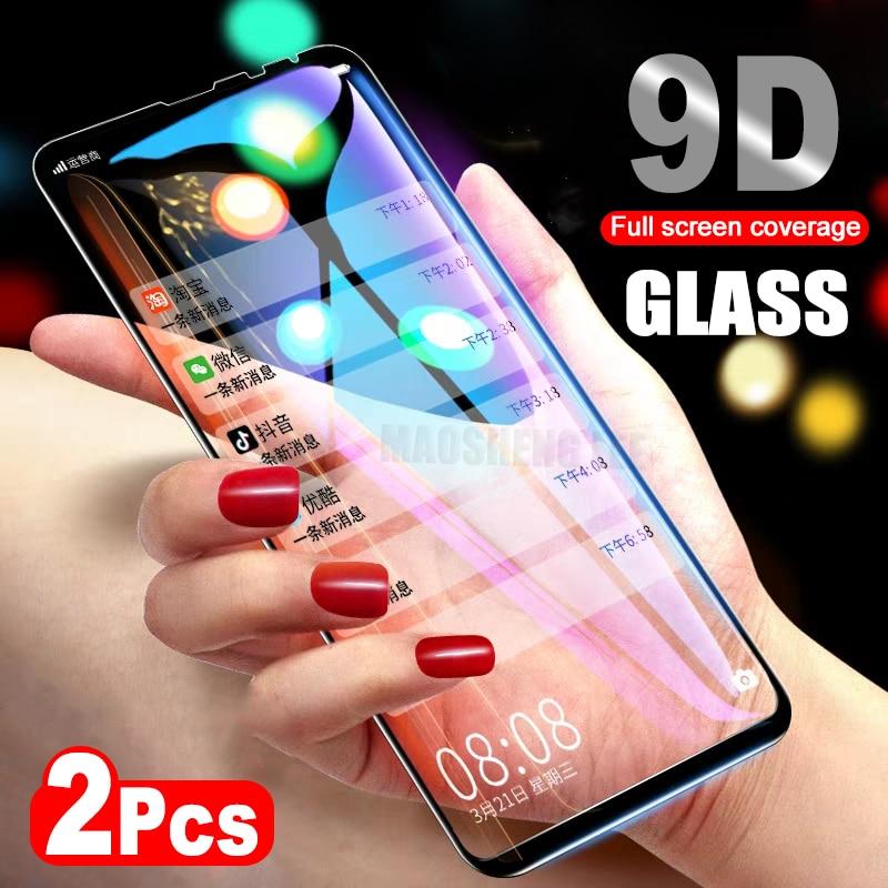 2Pcs lot 9D Glass For Xiaomi Mi Mix 2 2S Mix 3 Tempered Glass Screen Protector