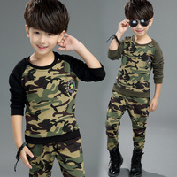 Autumn Fall Winter 2017 Korean Fashion Children Clothing Boutique Kids Clothes Boys Long Sleeve Suit Set