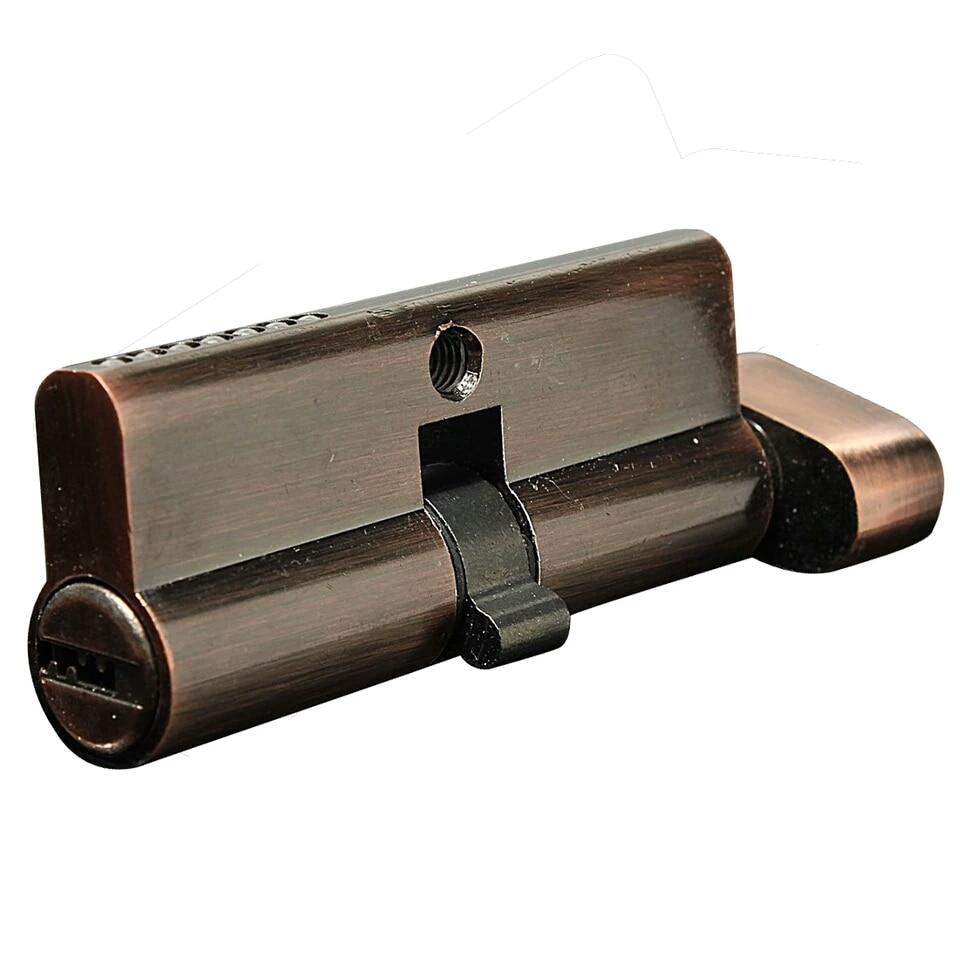 цена на 70mm Hold Hand Locks Lock Cylinder Brass Lock Core Red copper/xj