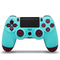 Version2 For PS4 Pro Bluetooth Wireless Controller For PlayStation 4 For PS3 Wireless Dual Shock Vibration Joystick Gamepads