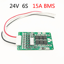 6 S 24V 15A BMS 25.2V Lithium Battery Electric Bicycle BMS 24V 8Ah 10Ah 12Ah Lithium-ion battery with balance function