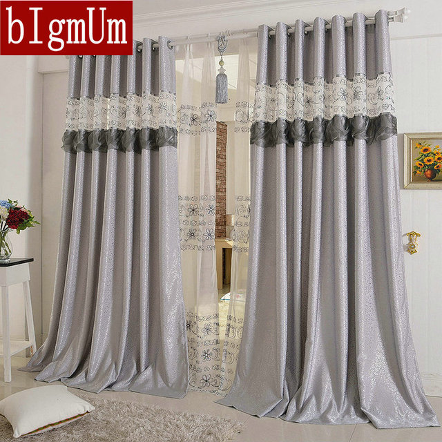 Embroidered Curtains For Living Room/Bedroom/Hotel Luxury Window  Treatment/Drapes Pink/