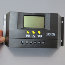 1pc x 30A 12V 24V CM3024Z JUTA PWM Solar system battery Charge Controller Regulators LCD Display