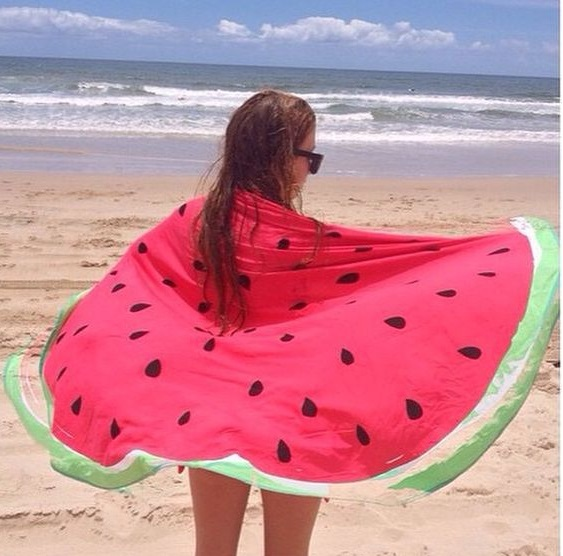 Supply Quality Round Silk Sunscreen Digital Printed Beach Towel St06-33