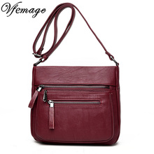Luxury Bag Women Messenger Bags Female PU Leather Handbags Small Crossbody For Womens Shoulder Famous Brand Designers