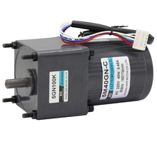 5I/RK40GN-C 40W gear motor, small induction motor, 220V AC motor, single-phase speed control motor, slow speed ac 380v 40w three phase gear motor with gearbox ac gear motor
