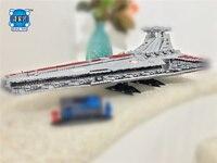 Genuine The UCS Rupblic Star Destroyer Cruiser Wars ST04 Set Lepins Building Blocks Bricks Educational Birthday Christmas Gift