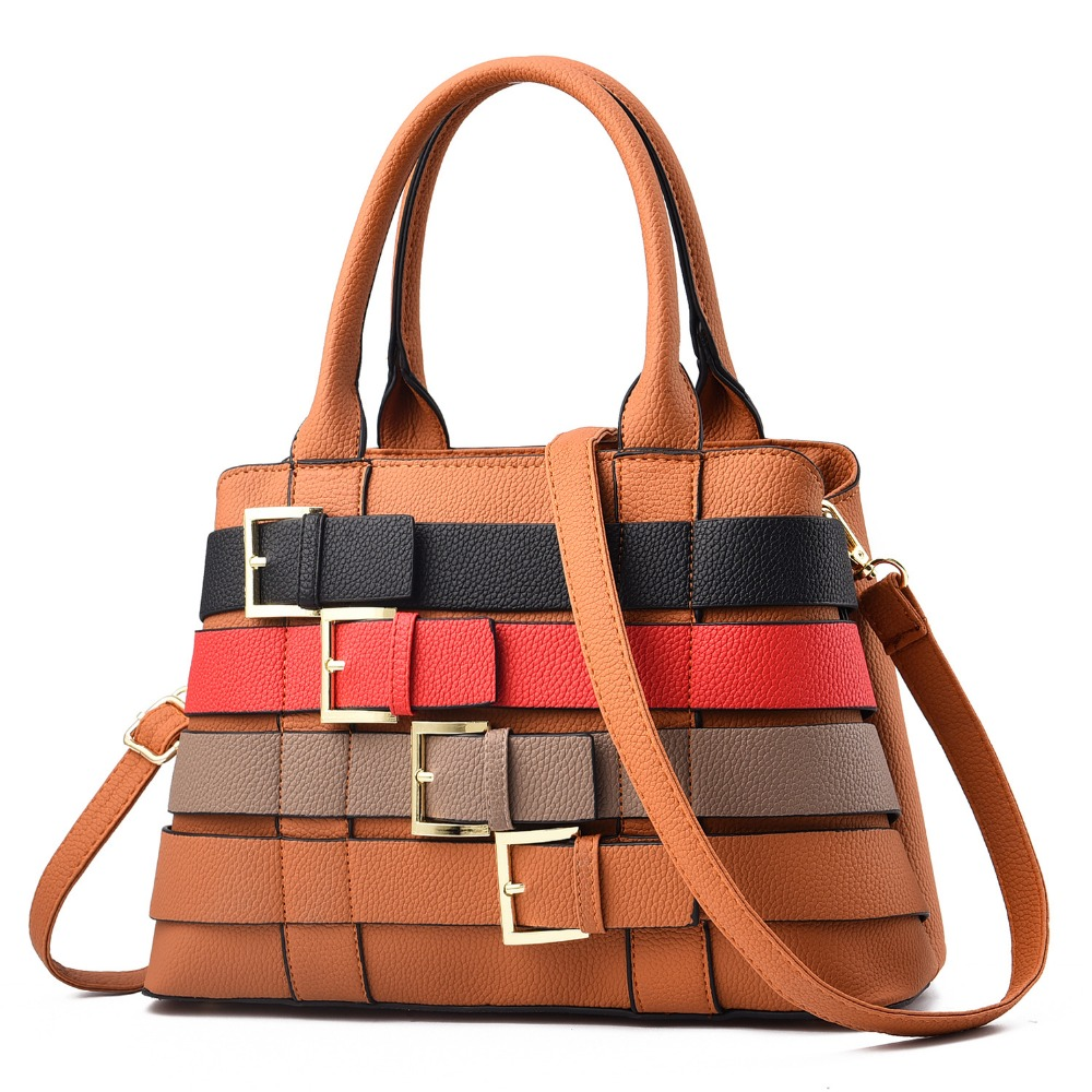 2019 Spring New Fashion Pu Leather Versatile High Quality Luxury Handbags Women Bags Designer Crossbody Bags
