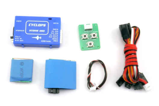 Free Shipping CYCLOPS STORM OSD System W GPS New Version V2 2 Edition for RC Airplane
