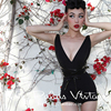 FREE SHIPPING Le Palais Vintage Retro Elegant And Sexy All Match Black Low Cut Halter Tied