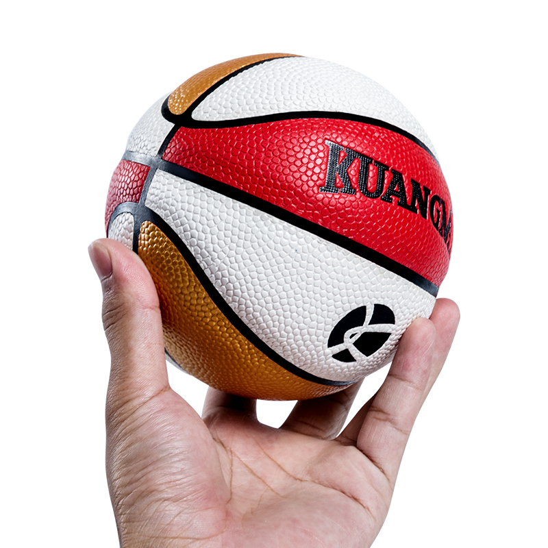 Kuangmi Mini Children Game Basketball Ball High Quality Commemorative Ball Kids Gifts Toys