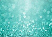 Verde turquesa glitter faísca do aqua festa de Natal do casamento da cerceta Vinil bokeh pano Computador imprimir partido cenário