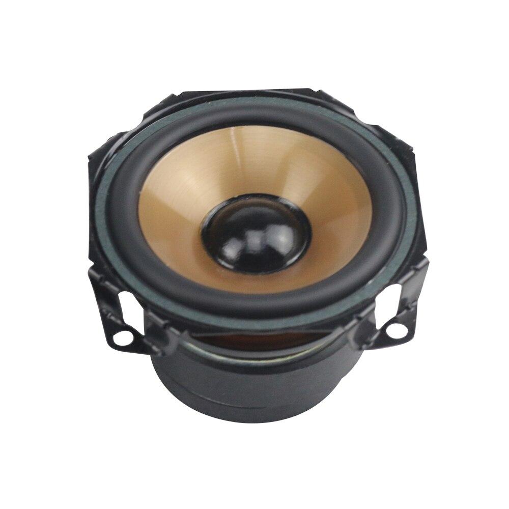 GHXAMP 3 inch 8OHM 20W Full Range Speakers PP Basin Rubber Edge For ALTEC  Speaker ITM800 Built-in Speaker DIY