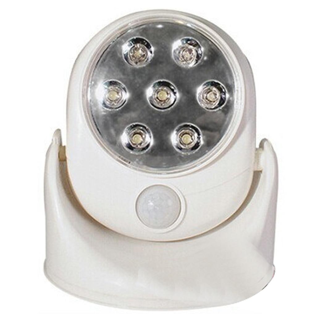 Automatic led energy saving night lamp - 360 Degree Rotating Light Sensor Smart Automatic Energy Saving Night Light Led Wall Light Lamp For