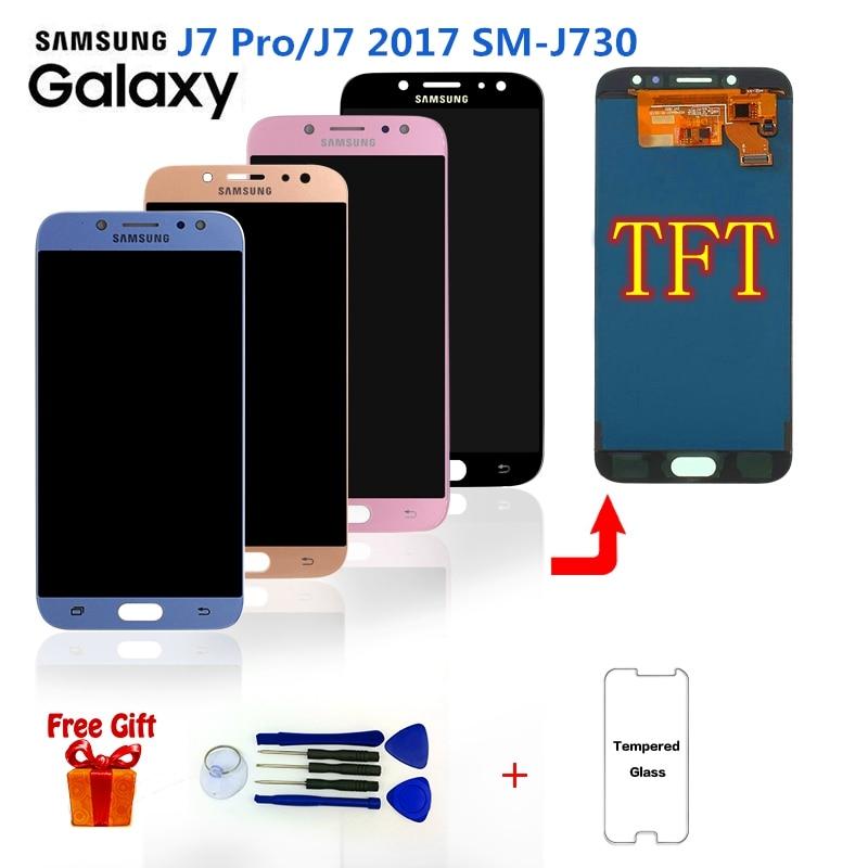 For SAMSUNG J7 Pro 2017 J730 SM-J730F Display LCD Screen Replacement for Samsung Galaxy J7 Pro J730G J730GM LCD Display Screen