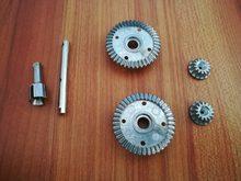 Wltoys 12401 12402 12403 12404 12409 peças de carro rc atualizar metal engrenagem de condução diferencial 12401-1638 12401-0262 12401-0263