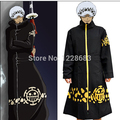 Trafalgar D. Water Law Surgeon of Death Anime One Piece Cosplay Costume Coat/Clock/Jacket