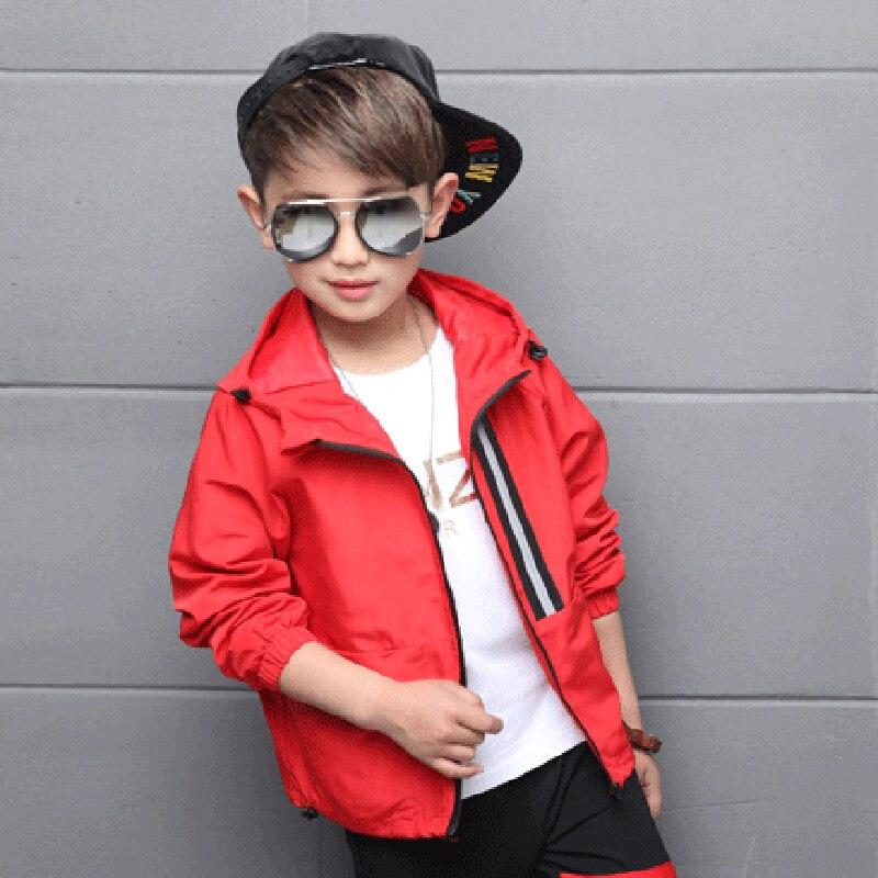 Для мальчиков одежда Шерстяное пальто для мальчиков Новый Fashion2 Цвет Мода с капюшоном Autumu дети пальто для мальчиков HS049