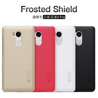 Nillkin Frosted Shield Hard Case For Xiaomi Redmi4 Pro Plastic Back Cover With Screen Protector Glass