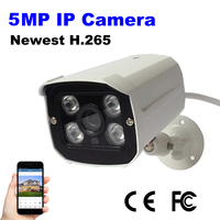 Surveillance IP Camera 4MP OV4689 3516D WDR Security Camera Array Led H265 ONVIF Waterproof Outdoor IRCUT