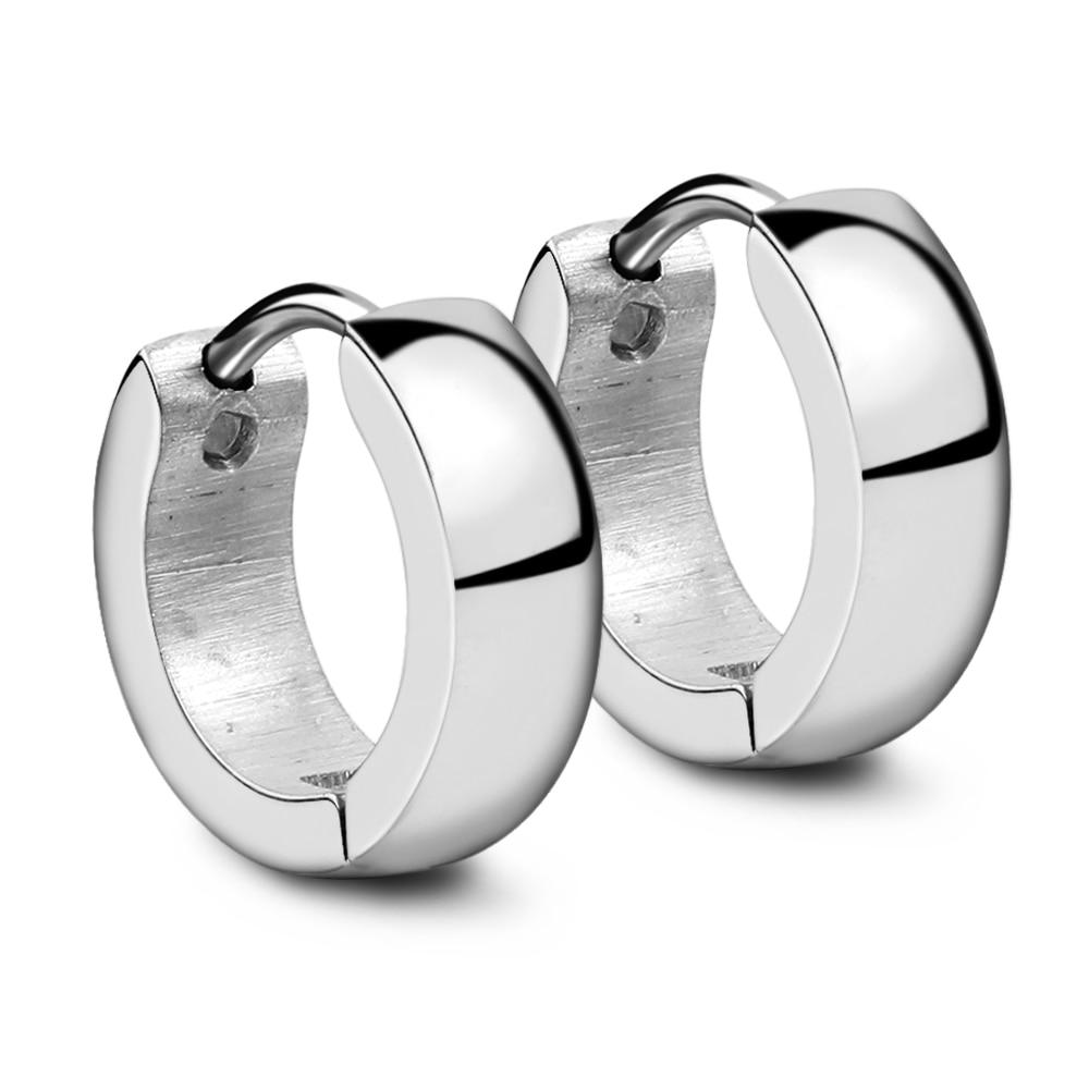 Niba Cute Hoop Earrings For Women Men Gold Silver