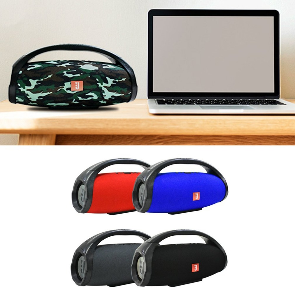 Mode bluetooth sans fil haut-parleur usb lecteur de musique tf Subwoofer Stéréo Basse Haut-parleurs Portable Haut-Parleur Extérieur