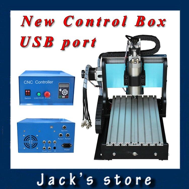 USB port !!! 3020Z-S++ ,CNC3020 800W Spindle +1.5kw VFD CNC Router water-cooling Metal engraving machiney cnc machine CNC 3020 usb port 3020z s cnc3020 800w spindle 1 5kw vfd cnc router water cooling metal engraving machiney cnc machine cnc 3020