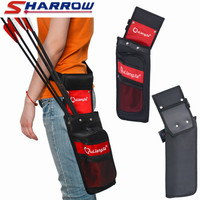 1pc Archery Reverse Arrow Quiver Canvas Single Shoulde Quiver Bag Case Arrow Holder For Bow And Arrow Hunting Accessory