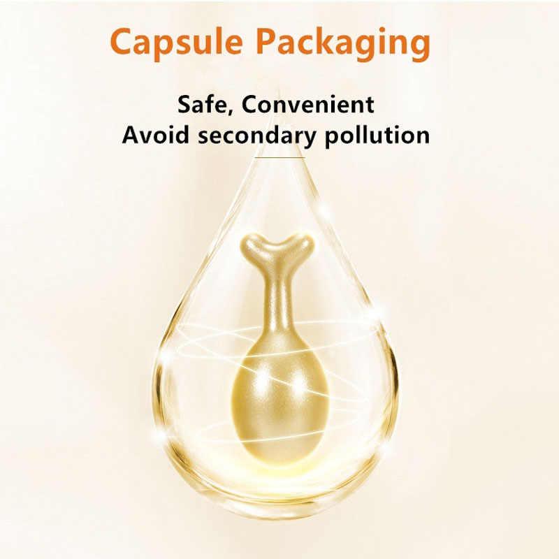 30 uds/botella de cápsulas de esencia de ácido hialurónico, Sérum de vitamina E antienvejecimiento, crema de esencia blanqueadora para eliminar el acné