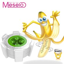 Meselo Male Masturbator Penis Trainer Sex Toy For Men Silico