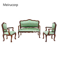 1/12 scale dollhouse miniature furniture Model Chair and sofa set