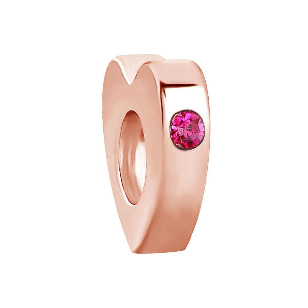 2019 nowy 1pc darmowa wysyłka różowe różowe złoto dom mickey prezent diy koralik Fit bransoletka typu charm pandora dla kobiet F061