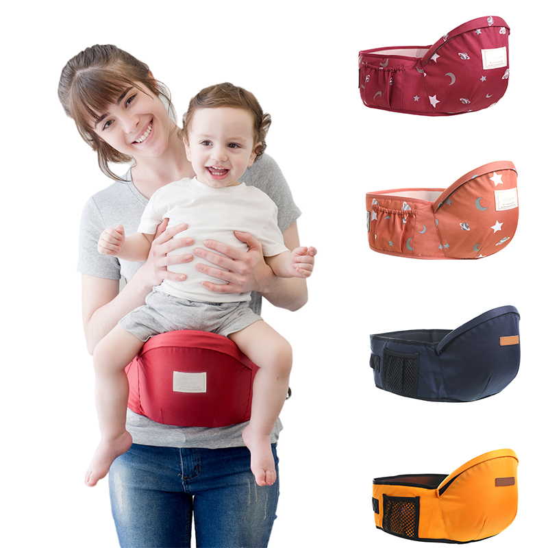 NEW Baby Hip Seat Carrier With Adjustable Strap And Pocket,Ergonomic Infant Waist Stool Baby Front Carrier For 0-24 Months Baby